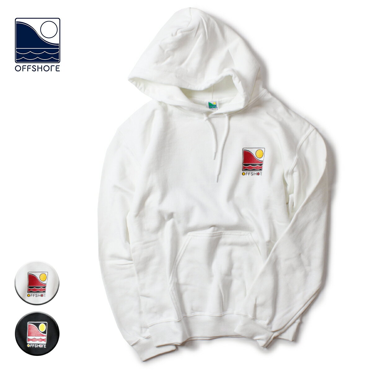 トップス, パーカー OFFSHORE ARCHIVE GRAPHIC HOODIE S-XL OS19-1CS-010