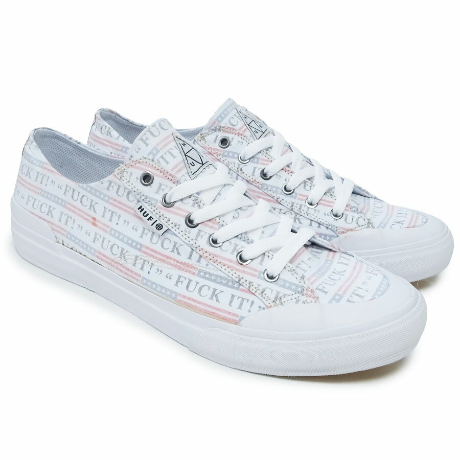 メンズ靴, スニーカー HUF CLASSIC LO FUCK IT SKATEBOARD SB OOO