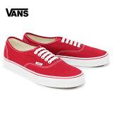VANSヴァンズバンズAuthentic[Red]メンズ靴スニーカーオーセンティックレッド定番正規