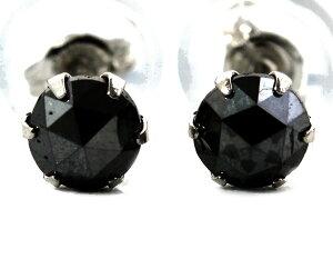ジュエリー JEWELRY 一粒 【0.3ct】 ブラックダイヤモンド ピアス プラチナ DAPE12PKNC 【レディース】