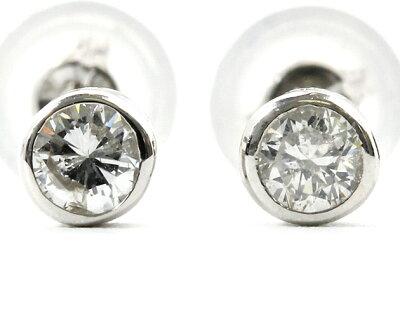 ジュエリー JEWELRY 一粒 【0.2ct】 ダイヤモンド ピアス 18Kホワイトゴールド DFRE02WG 【レディース】