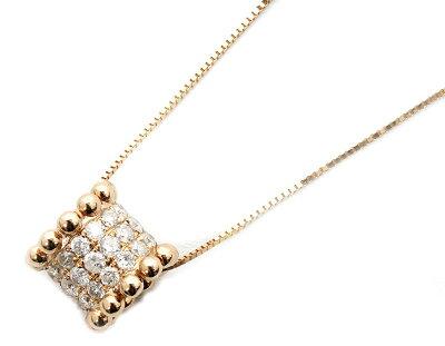 ジュエリー JEWELRY 【0.65ct】 ダイヤモンド ネックレス 18Kピンクゴールド DP43180PG 【レディース】