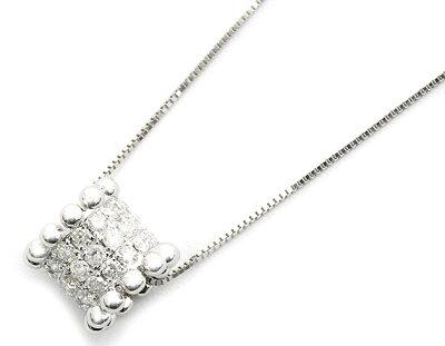 ジュエリー JEWELRY 【0.65ct】 ダイヤモンド ネックレス 18Kホワイトゴールド DP43180WG 【レディース】
