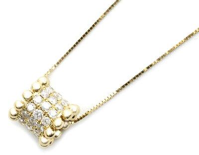 ジュエリー JEWELRY 【0.65ct】 ダイヤモンド ネックレス 18Kイエローゴールド DP43180YG 【レディース】