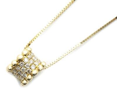ジュエリー JEWELRY 【0.25ct】 ダイヤモンド ネックレス 18Kイエローゴールド DP49178YG 【レディース】
