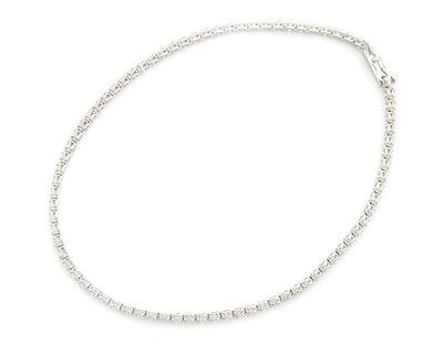 ジュエリー JEWELRY 【1.0ct】 ダイヤモンド ブレスレット K18ホワイトゴールド DTW275 【レディース】