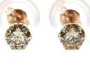 ジュエリー JEWELRY 一粒 【0.2ct】 ダイヤモンド ピアス 18Kピンクゴールド DVTFN20PGD 【レディース】