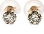 ジュエリー JEWELRY 一粒 【0.3ct】 ダイヤモンド ピアス 18Kピンクゴールド DVTFN30PGD 【レディース】