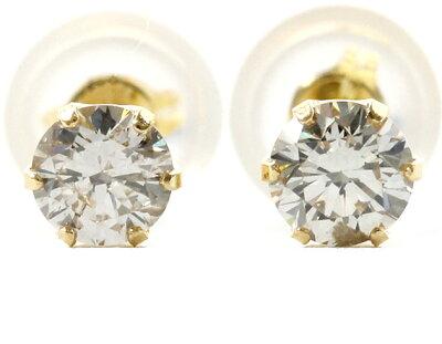 ジュエリー JEWELRY 一粒 【0.3ct】 ダイヤモンド ピアス 18Kイエローゴールド DVTFN30YGD 【レディース】