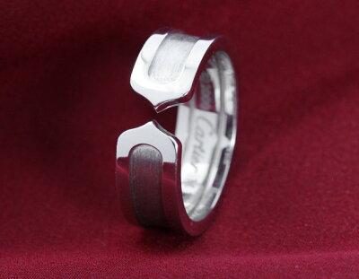 カルティエ Cartier リング【指輪】 C-2 ホワイトゴールド B4040500 レディース