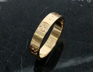 グッチ GUCCI リング【指輪】 GGアイコン イエローゴールド 073230 09850 8000 メンズ レディース