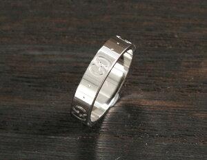 グッチ GUCCI リング【指輪】 GGアイコン ホワイトゴールド 073230 09850 9000 メンズ レディース