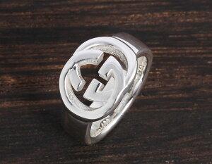 グッチ GUCCI リング【指輪】 ダブルG スターリングシルバー 190483 J8400 8106 メンズ レディース