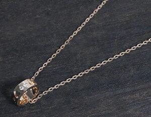 グッチ GUCCI ネックレス GGアイコン ダイヤモンド ピンクゴールド 214164 J8…