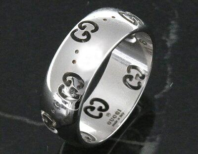 グッチ GUCCI リング【指輪】 GGアイコン ホワイトゴールド 246470 J8500 9000 メンズ レディース