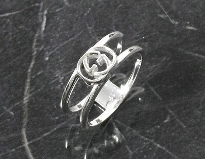 グッチ GUCCI リング【指輪】 ダブルG スターリングシルバー 298036 J8400 8106 メンズ レディース