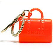 フルラ FURLA キーリング キャンディ 【CANDY】 カラーネオンオレンジ RG94 PL0 NE1 レディース