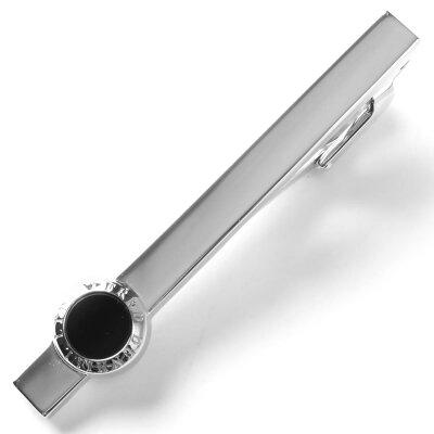 ダンヒル DUNHILL ネクタイピン タイバー 【TIEBAR】 シルバー&ブラック JSX8108 H メンズ