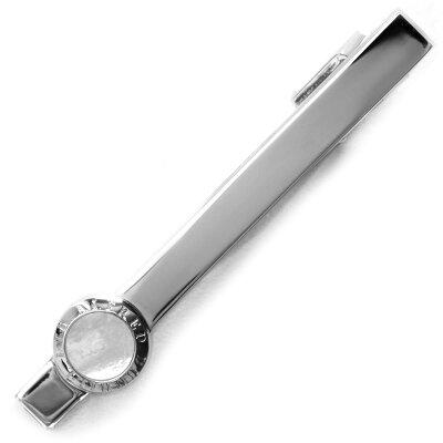 ダンヒル ネクタイピン アクセサリー メンズ コイン タイバー COIN TIEBAR シルバー JSX8109H DUNHILL