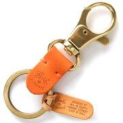 イルビゾンテ IL BISONTE キーリング スタンダード STANDARD オレンジ C0551 P 166 メンズ レディース