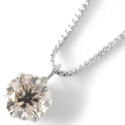 ジュエリー JEWELRY ネックレス ダイヤモンド 一粒 0.3ct プラチナ クリア&シルバー SDFN30 UGL レディース