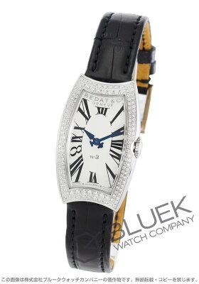ベダ&カンパニー No.3 ダイヤ アリゲーターレザー 腕時計 レディース BEDAT&Co B384.030.600