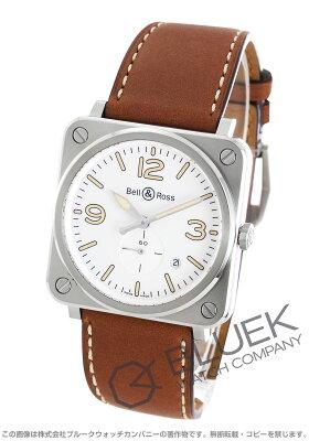 ベル&ロス Bell&Ross 腕時計 BRS ホワイト ヘリテージ メンズ BRS W-HERITAGE