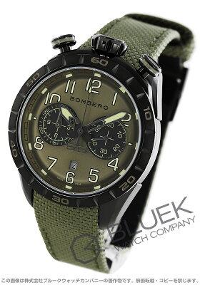 ボンバーグ BB-68 グリーン クロノグラフ 腕時計 メンズ BOMBERG NS44CHPBA.207.9