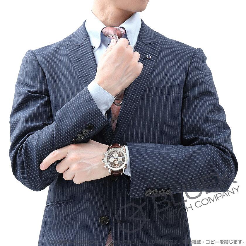 ブライトリングナビタイマーB03ラトラパンテクロノグラフクロコレザー腕時計メンズBREITLINGAB0310211Q1P1