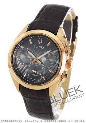 ブローバ カーブ ドレス クロノグラフ 腕時計 メンズ Bulova 97A124
