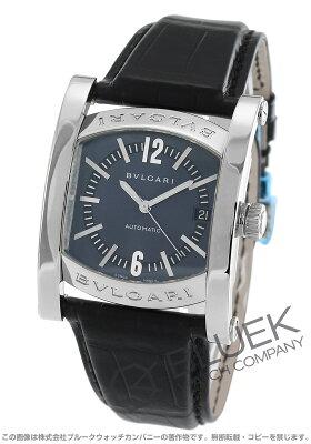 ブルガリ BVLGARI 腕時計 アショーマ アリゲーターレザー メンズ AA44C14SLD