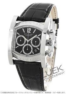 ブルガリ BVLGARI 腕時計 アショーマ アリゲーターレザー メンズ AA48BSLDCH