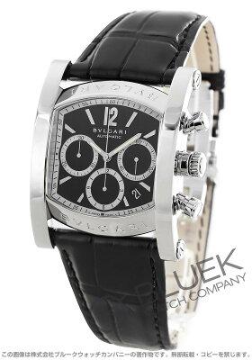 ブルガリ アショーマ クロノグラフ アリゲーターレザー 腕時計 メンズ BVLGARI AA48BSLDCH