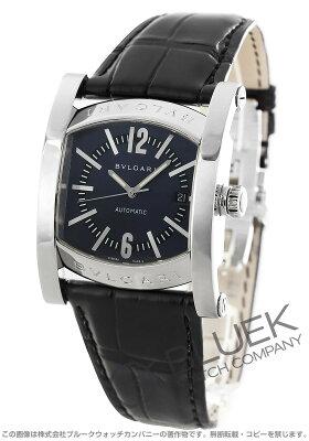 ブルガリ BVLGARI 腕時計 アショーマ アリゲーターレザー メンズ AA48C14SLD