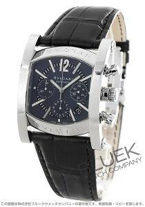 ブルガリ BVLGARI 腕時計 アショーマ アリゲーターレザー メンズ AA48C14SLDCH
