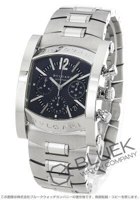 ブルガリ アショーマ クロノグラフ 腕時計 メンズ BVLGARI AA48C14SSDCH