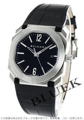 ブルガリ BVLGARI 腕時計 オクト ソロテンポ アリゲーターレザー メンズ BGO38BSLD