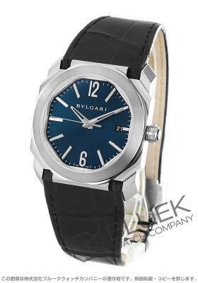 ブルガリ BVLGARI 腕時計 オクト ソロテンポ アリゲーターレザー メンズ BGO38C3SLD