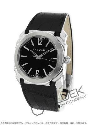 ブルガリ BVLGARI 腕時計 オクト アリゲーターレザー メンズ BGO41BSLD