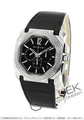 ブルガリ BVLGARI 腕時計 オクト ヴェロチッシモ アリゲーターレザー メンズ BGO41BSLDCH