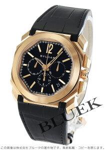 ブルガリ BVLGARI 腕時計 オクト ヴェロチッシモ PG金無垢 アリゲーターレザー メンズ BGOP41BGLDCH