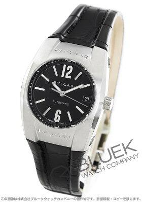 ブルガリ エルゴン アリゲーターレザー 腕時計 ユニセックス BVLGARI EG35BSLD