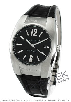 ブルガリ BVLGARI 腕時計 エルゴン アリゲーターレザー メンズ EG40BSLD