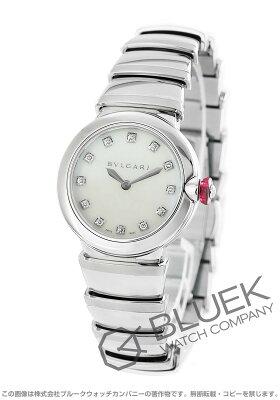 ブルガリ ルチェア ダイヤ 腕時計 レディース BVLGARI LU28WSS/12