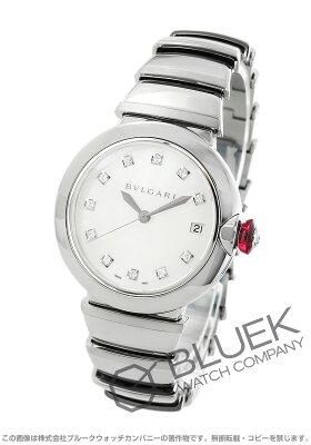 ブルガリ ルチェア ダイヤ 腕時計 レディース BVLGARI LU36WSSD/11