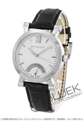 ブルガリ BVLGARI 腕時計 ソティリオ ブルガリ アリゲーターレザー メンズ SB42WSLDR