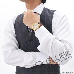 ブルガリ ディアゴノ クロノグラフ YG金無垢 アリゲーターレザー 腕時計 ユニセックス BVLGARI DG35C6GLDCH