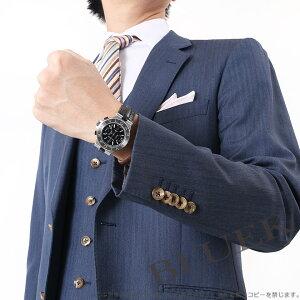ブルガリ ディアゴノ クロノグラフ アリゲーターレザー 腕時計 メンズ BVLGARI DG40BSLDCH