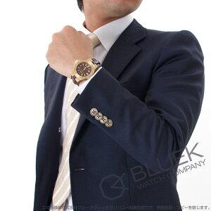 ブルガリ ディアゴノ クラシック 世界限定500本 YG金無垢 アリゲーターレザー 腕時計 メンズ BVLGARI DG40C11GLD