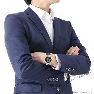 ブルガリ ディアゴノ ヴェロチッシモ クロノグラフ PG金無垢 替えベルト付き 腕時計 メンズ BVLGARI DGP41BGVDCH-SET-BRW